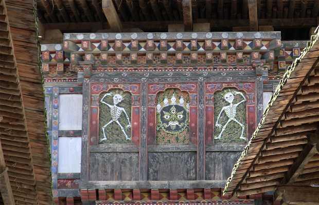 El mercado, el dzong y el Tshechu de Wanduephodrang