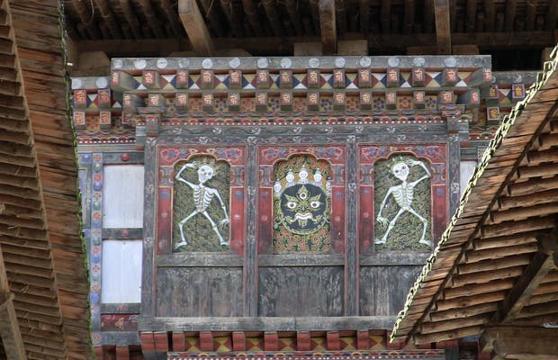 The Market, the Dzong and the Wanduephodrang Tshechu