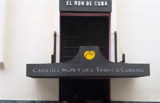 Casa del ron y del tabaco cubano