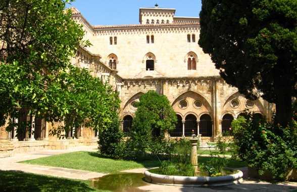 Cloître de la cathédrale de Tarragone