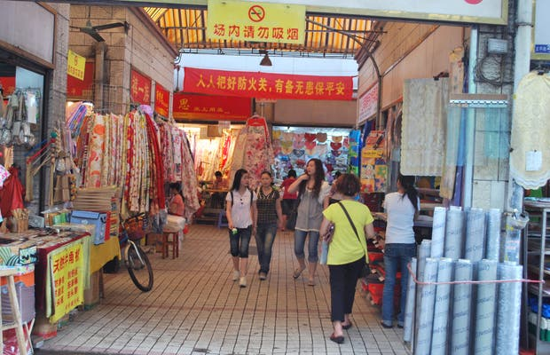 Mercadillos de Changshou Lu