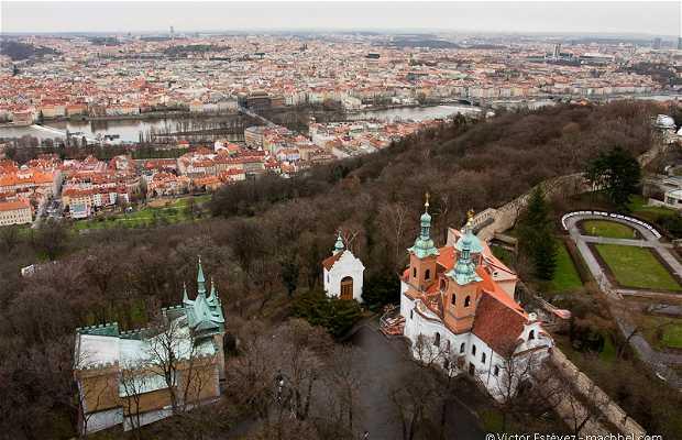 Belvedere di Petrin a Praga