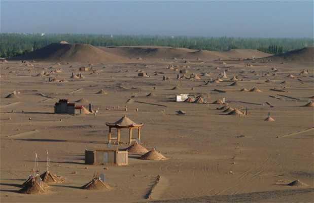 Cementerio Budista de Dunhuang