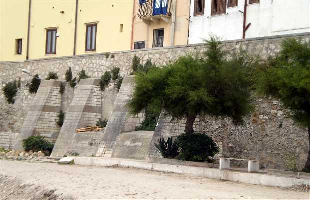 Fortificazioni e mura di Trapani
