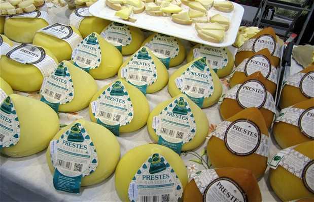 Marché de fromages