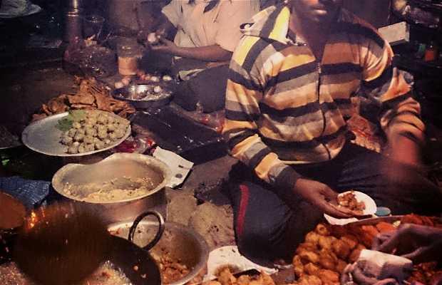 Puesto callejeros en Luxa Road