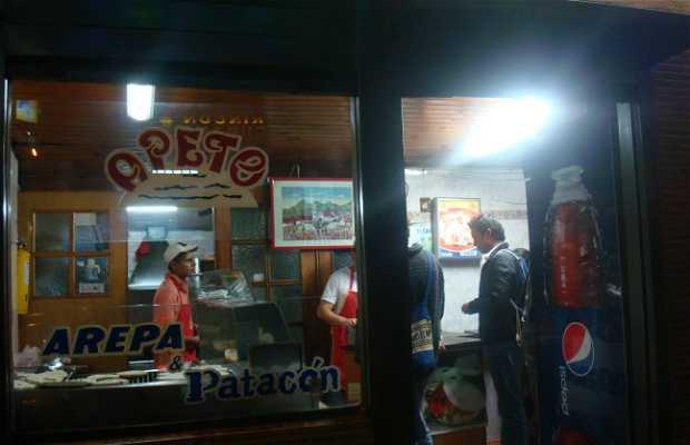 Apete - Arepa rellena & patacones