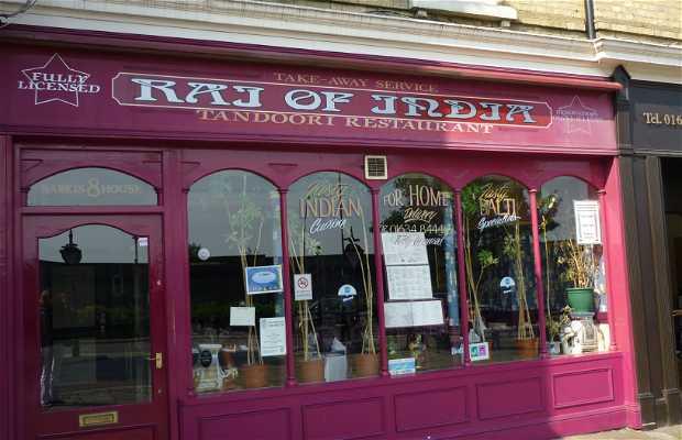 Restaurante Raj of India