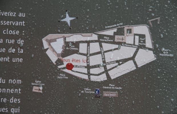 Casco antiguo de Vitré, ciudad medieval