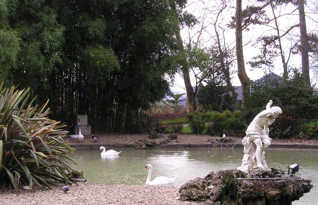 Parco del Palazzo di Aiete a San Sebastian