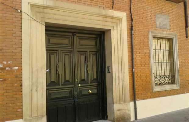 Casa natal de don Manuel Azaña