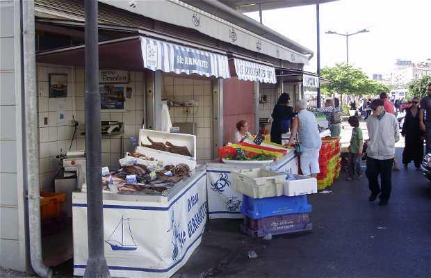 Le port de Boulogne et son marché de pêcheurs