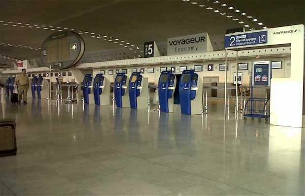 Terminal 2F Roissy CDG