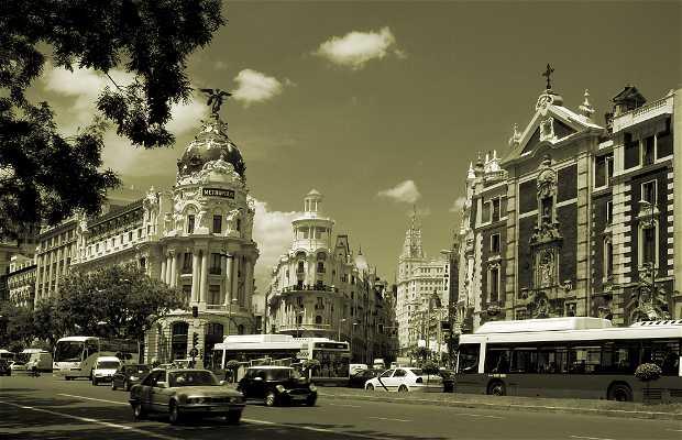 La calle Alcalá
