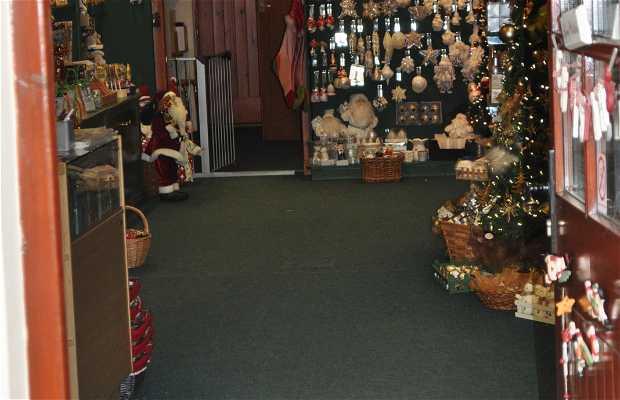 Nutcracker Christmas shop