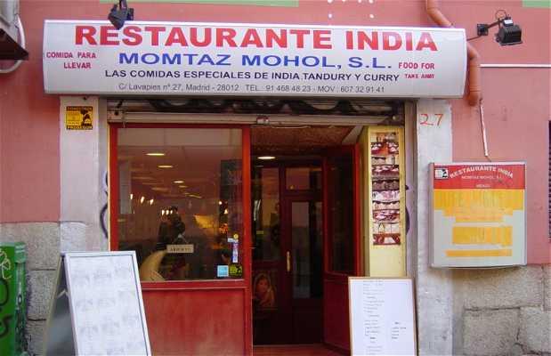Restaurante Indio Momtaz Mohol