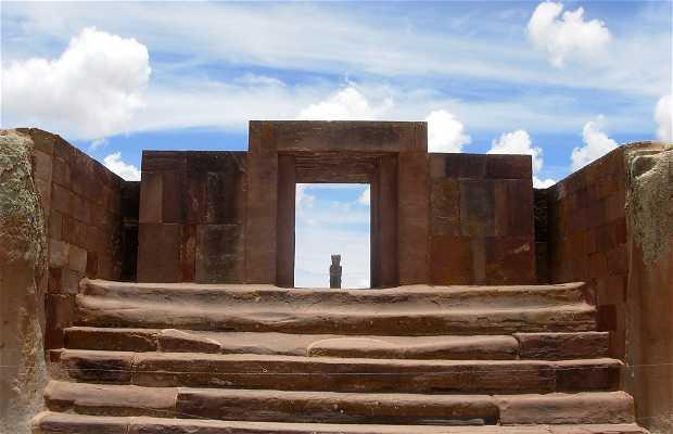 Ruínas de Tiahuanaco