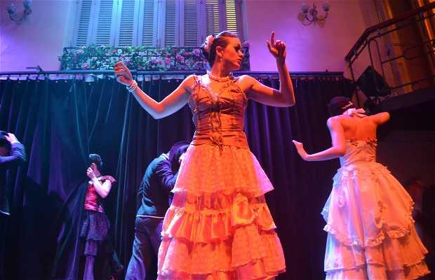 Show de Tango no Complejo Tango