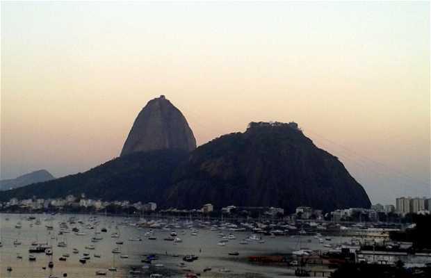 Vistas del Pan de Azúcar desde Botafogo Praia Shopping