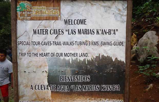 """Water Caves """"Las Marias K'AN-B'A"""""""