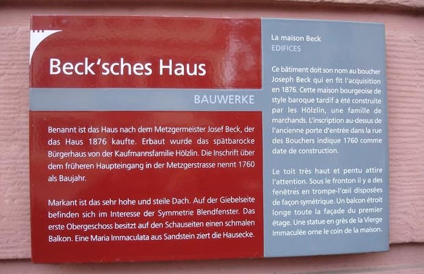 La maison Beck
