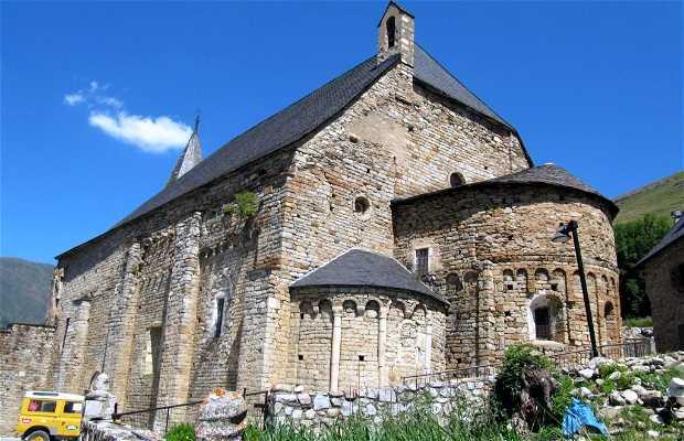 Iglesia de Santa Maria de Cap d'Aran de Tredòs