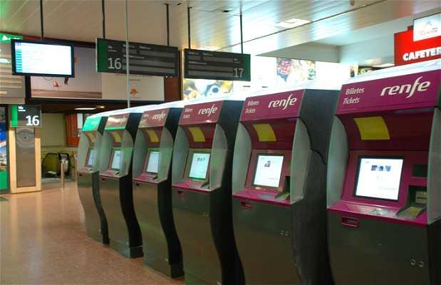 Stazione di Chamartín a Madrid
