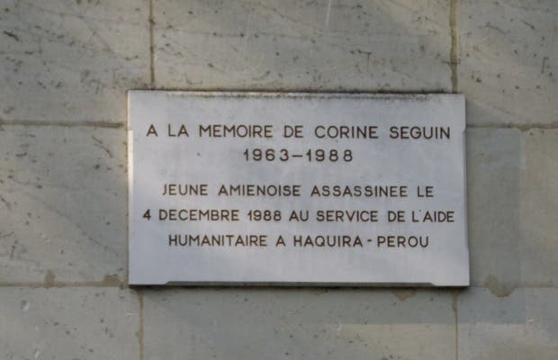 Homenaje de Corine Seguin