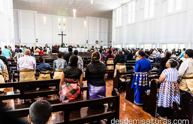 Domingos en Tonga