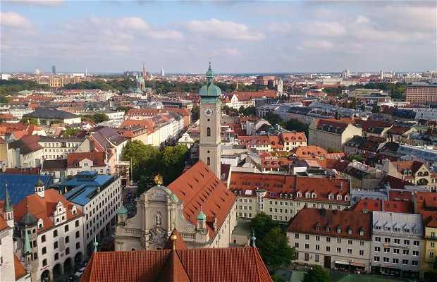La vue sur Munich