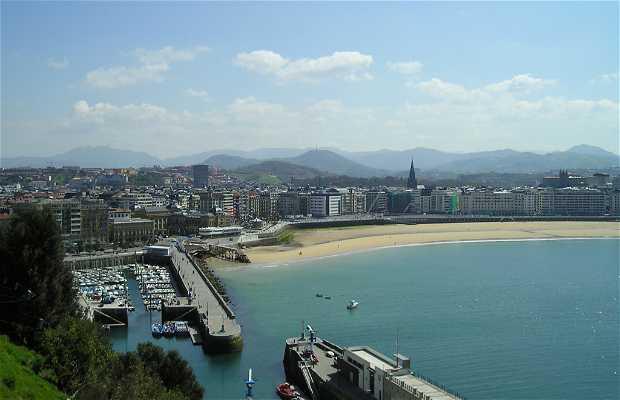 The beaches of San Sebastian