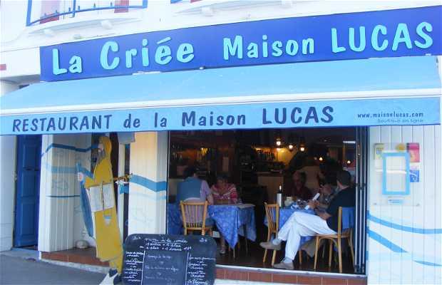La Criée - La Casa Lucas