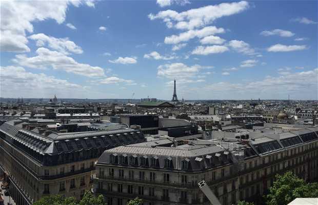 Terraza panorámica Galerías Lafayette