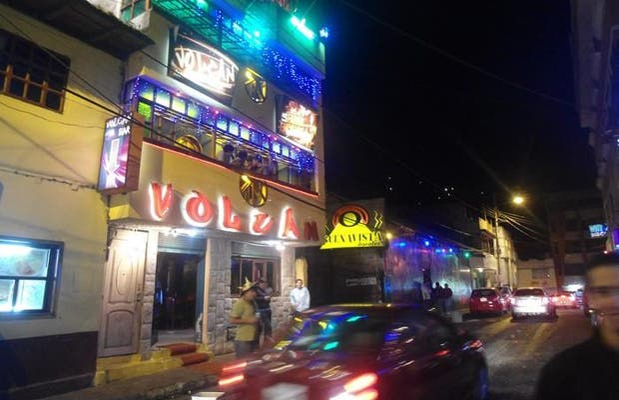 Night in Banos