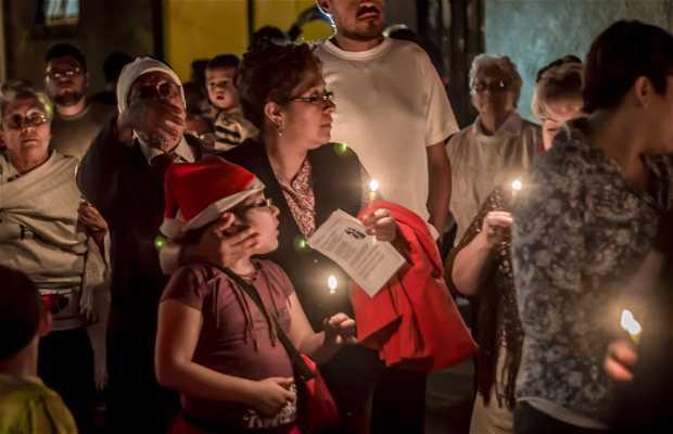 Posadas navideñas en Oaxaca