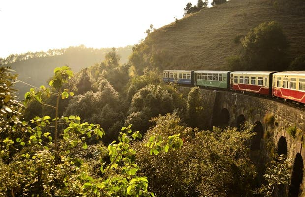 Toy Train desde Kalka hasta Shimla
