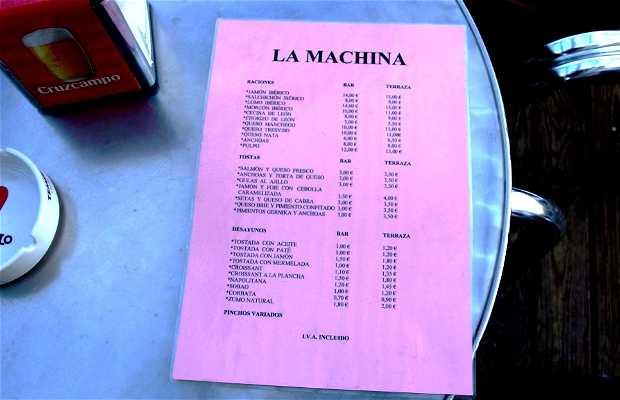 Café - Bar La Machina (Cerrado)