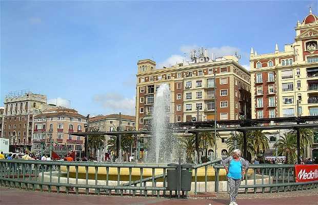 Plaza de la Marina a Malaga
