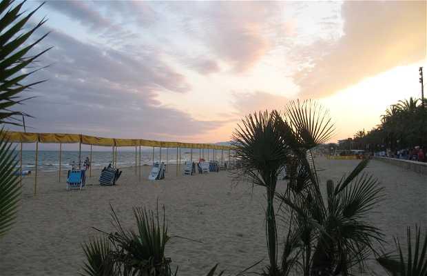 Poniente Beach in Salou