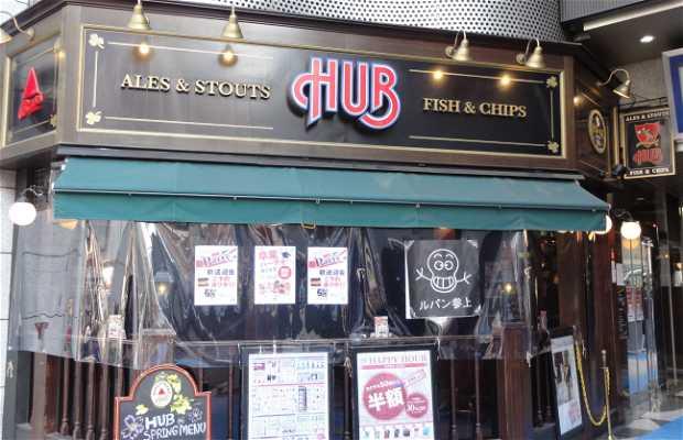 """Pub inglés """"Hub"""""""