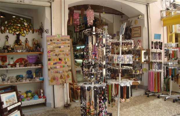 Lojinhas de artesanato e souvenir