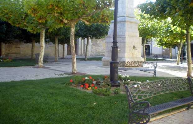 Plaza Santa María a Carrión de los Condes