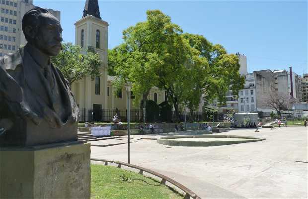 Prof. Dr. Bernardo Houssay Square