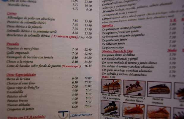 La Bodeguilla del Bar Jamón Restaurant
