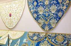 Museum room mantles of Nuestra Señora De Gracia