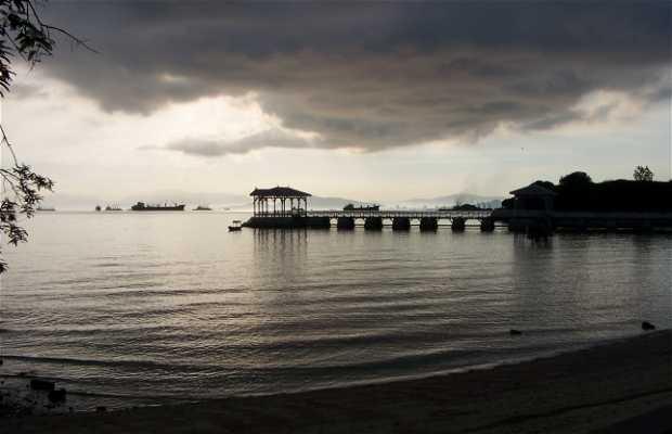 Koh sichang's beach