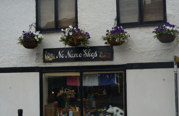 No name shop