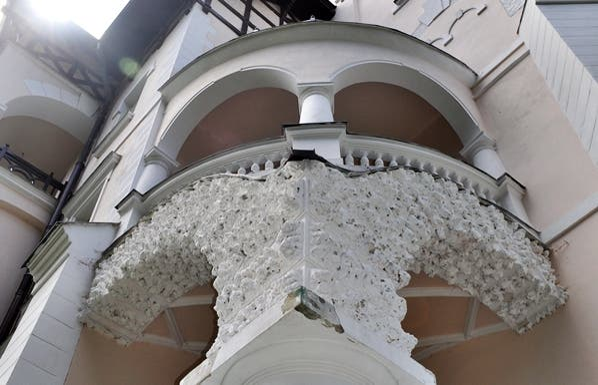 """Biblioteca Municipal de Mariánské Lázne. """"Villa Turba""""a"""