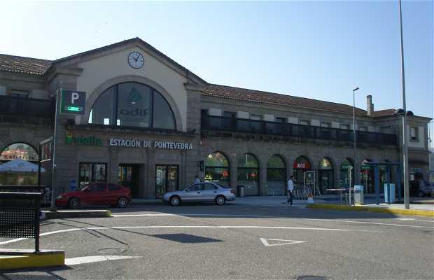 Estación de tren de Pontevedra
