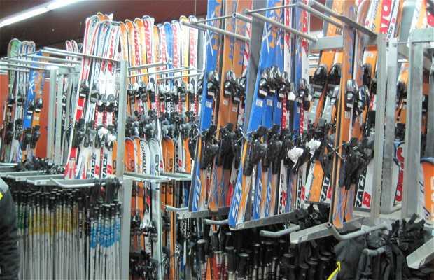 Alquiler de Equipo para Esquiar en el Vall de Nuria